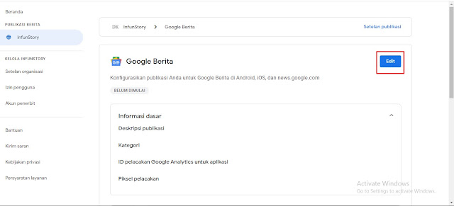 Edit Google News