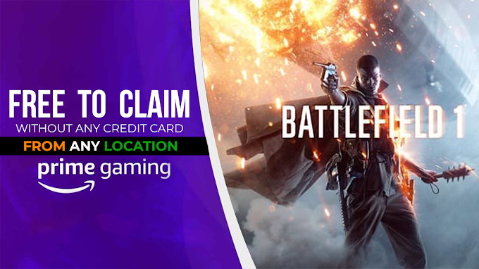 How to Claim Battlefield 1on Amazon Prime Gaming In India | Step By step Guide To Claim Battlefield 1 PC