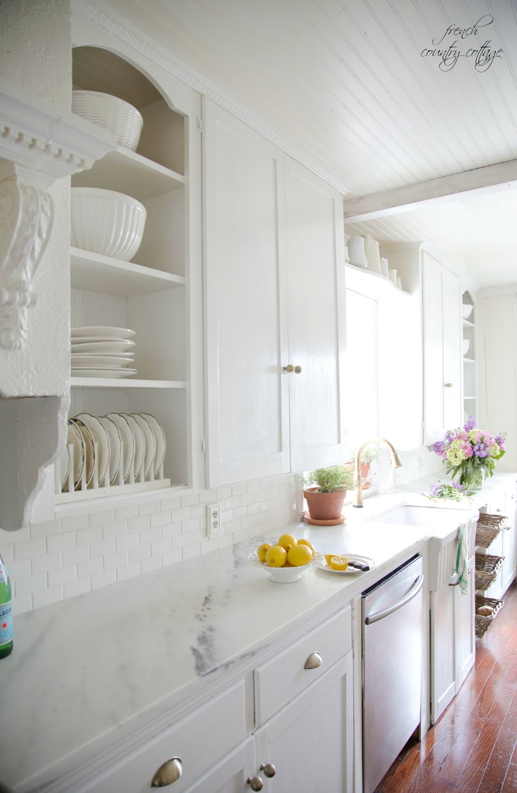 Questions About Marble Counters French Country Cottage