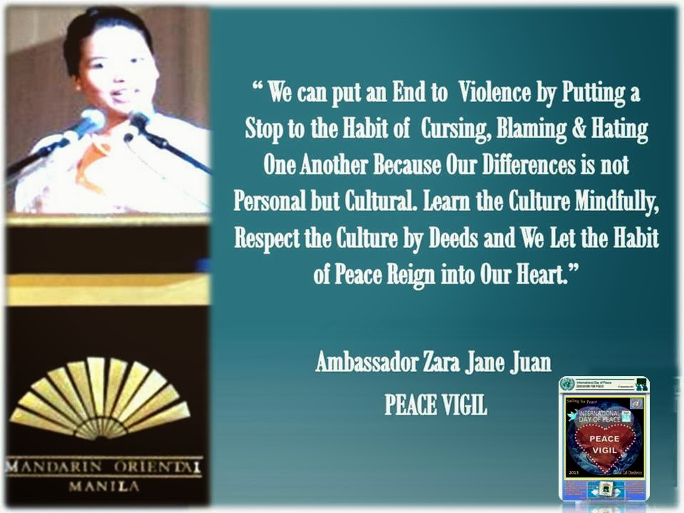We can put an end to violence
