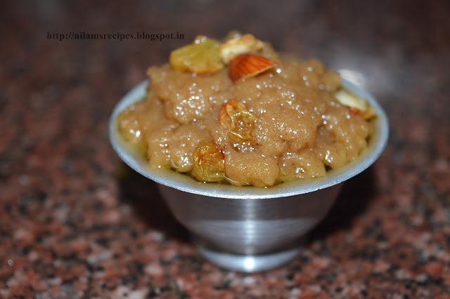 Rajgira Sheera