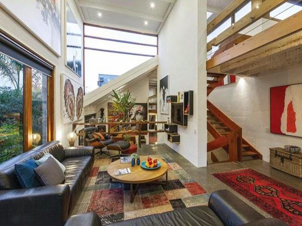 Contemporánea casa familiar en Melbourne Australia 1