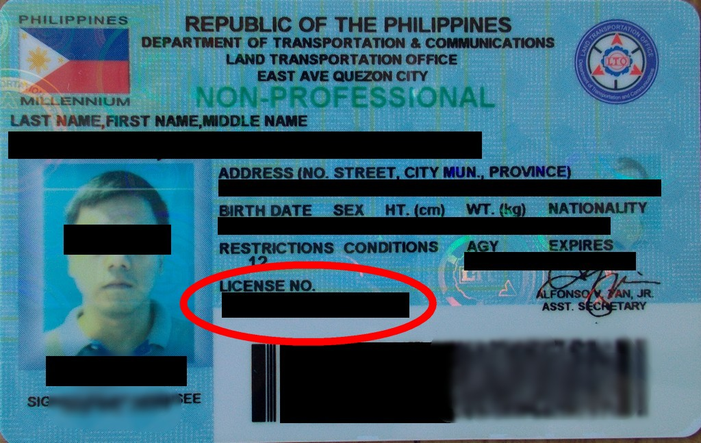 OcamPost: Verifying Plate Number and Driver's License thru SMS