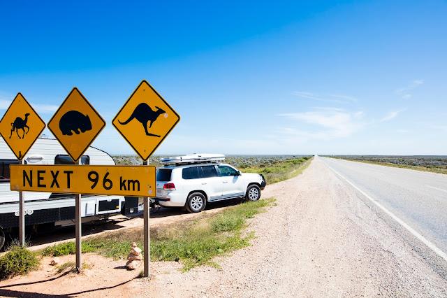 Eyre Highway, Nullarbor, SA