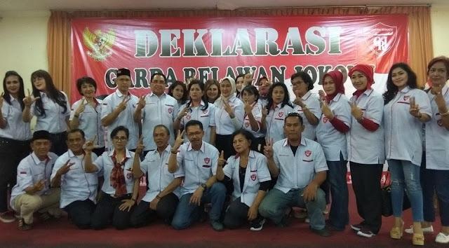 GRJ Deklarasikan Dukung Jokowi 2 Periode