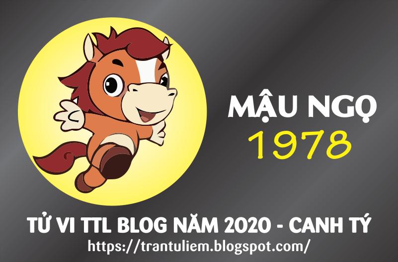 TỬ VI TUỔI MậU NGọ 1978 NĂM 2020