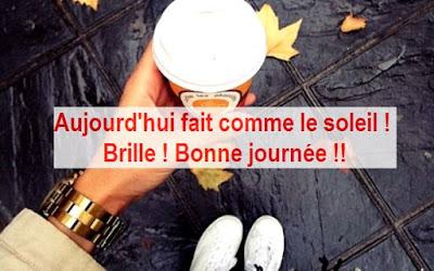 Sms message bonjour