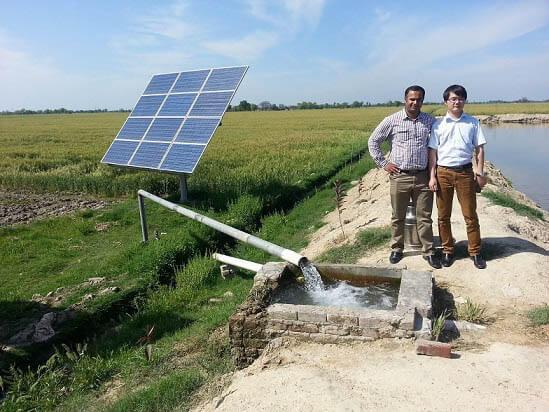 Jenis pompa air panel surya di pertanian
