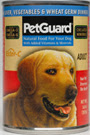 Picture of Petguard Liver, Vegetable and Wheat Germ Canned Dog Food