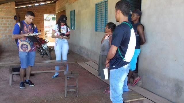 JM da Paróquia Santo Antônio de Gurupi (TO) realiza Missão