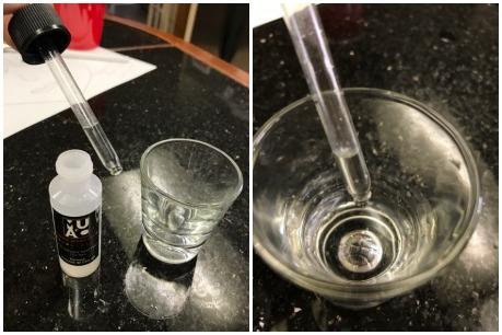 Chất mình dùng để peel ở đây là sản phẩm Muac Acid salicylic 15%