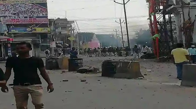 An atmosphere of tension on the second day in the city; Two people killed in firing, Section-144 applied