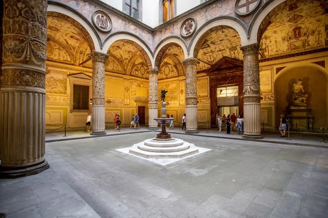 Visiting the Palazzo Vecchio in Florence