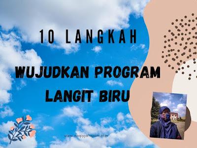 10 langkah wujudkan program langit biru