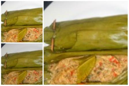 Resep Pepes Ikan Teri Dan Kelapa Parut Pedas County Food