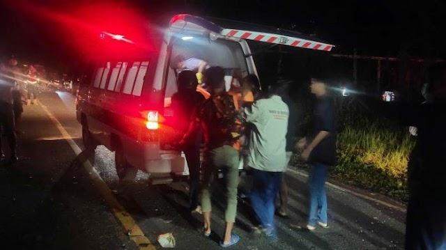 Remaja Tewas di Jalan Poros Samarinda Bontang, Diduga Kecelakaan Lalu-lintas Tanpa Memakai Helm