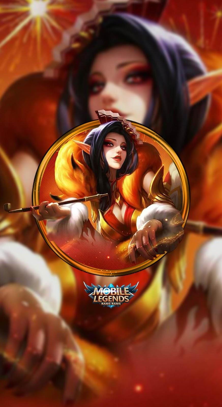 Wallpaper Aurora Fox Lady Skin Mobile Legends HD for Mobile