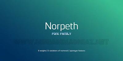 Afrasiab malik: norpeth font family free download.