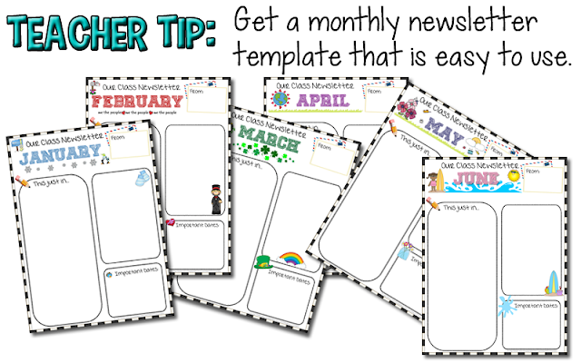 https://www.teacherspayteachers.com/Product/Editable-Newsletter-778389