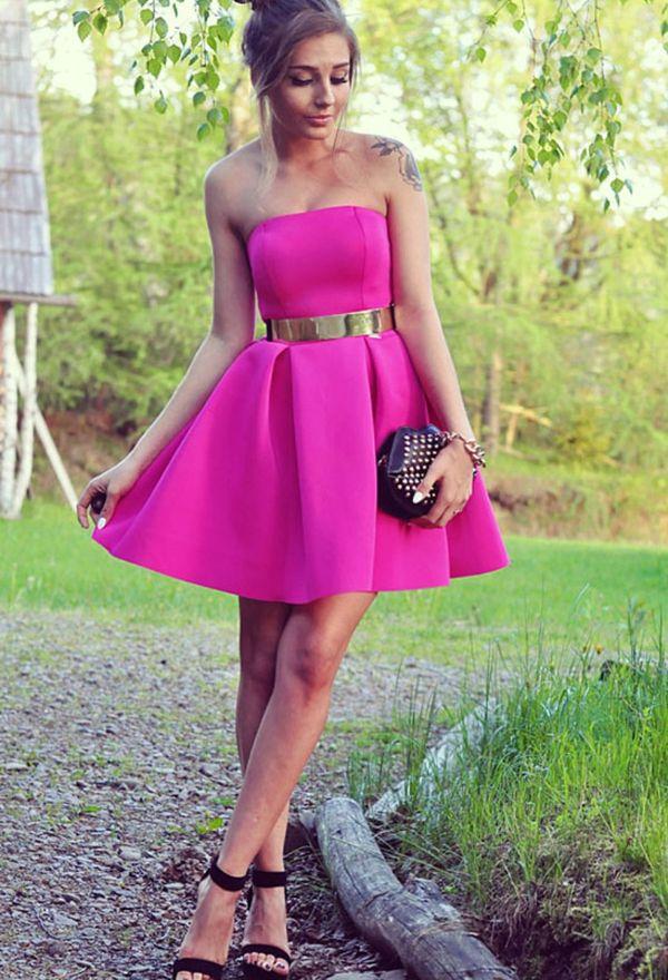 Increibles vestidos de moda juveniles para fiesta | Vestidos 2016 ...