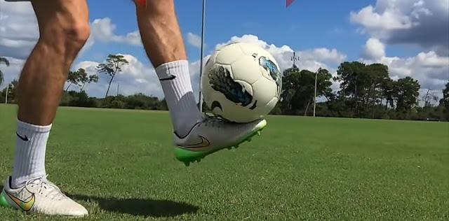 juggling in football.