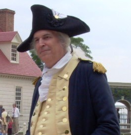 Living History interpretation of Gen. George Washington