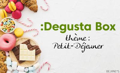 Degustabox janvier Petit-Déjeuner
