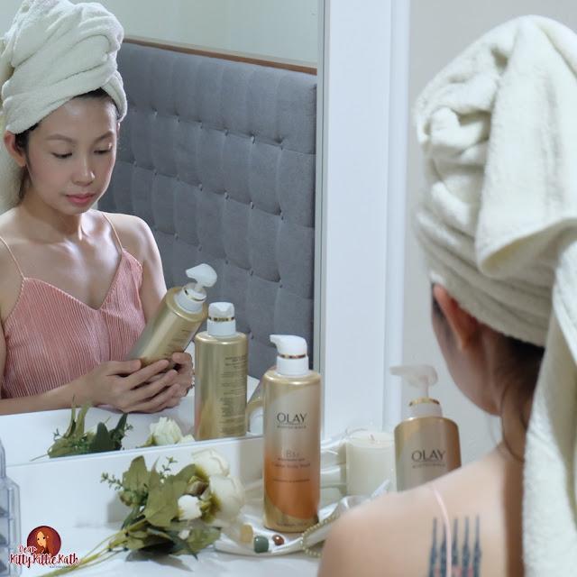 Análise do produto: Olay Body Wash com Niacinamida | Querida Kitty Kittie Kath 2