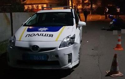 У Чернігівській області п'яний водій мопеда врізався в копів