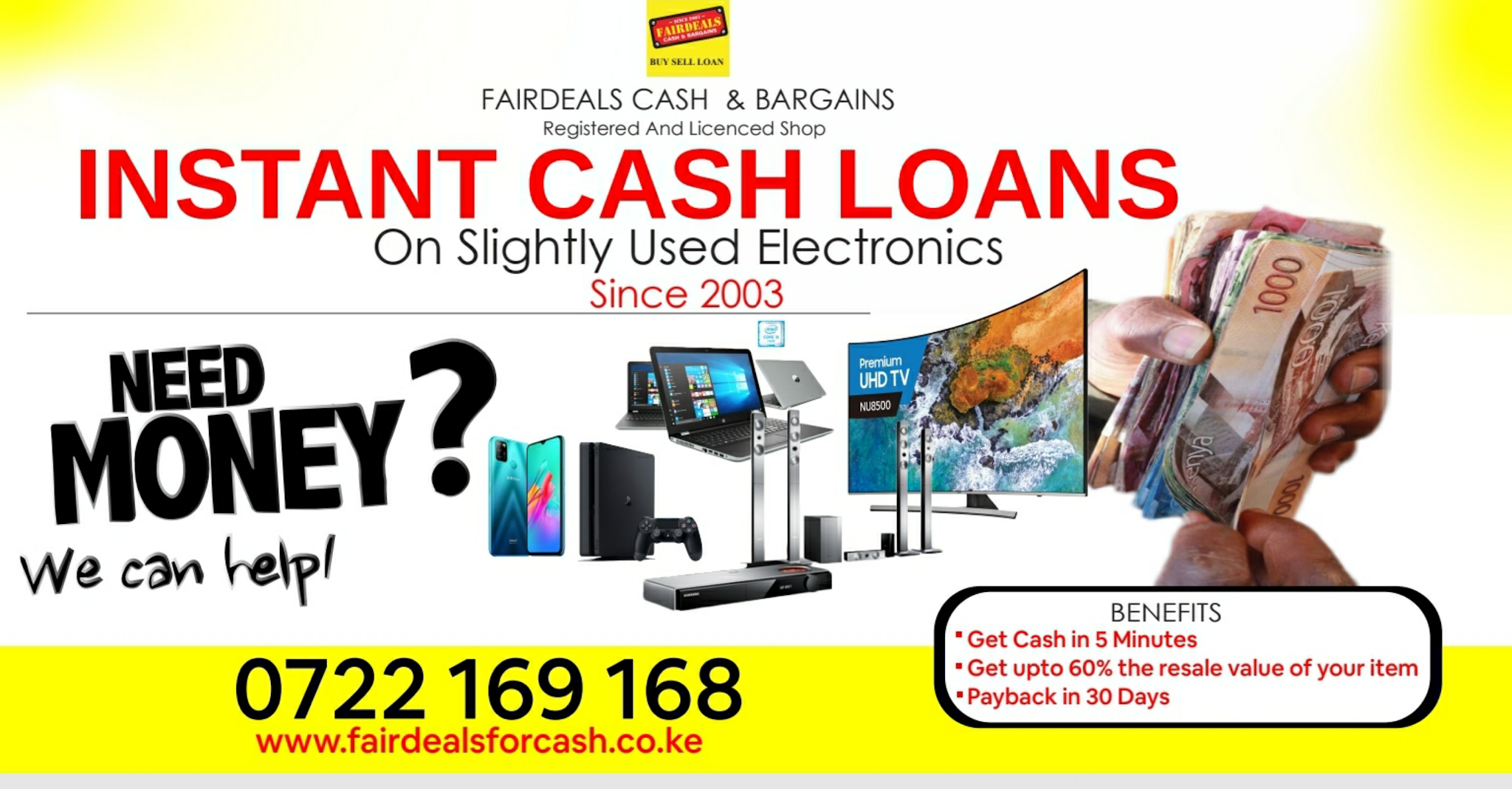 Fairdeals For Cash