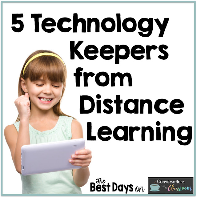 This blog post is about Technology Keepers that teachers should consider after Virtual Learning online.