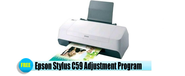 Epson Stylus C59 Adjustment Program