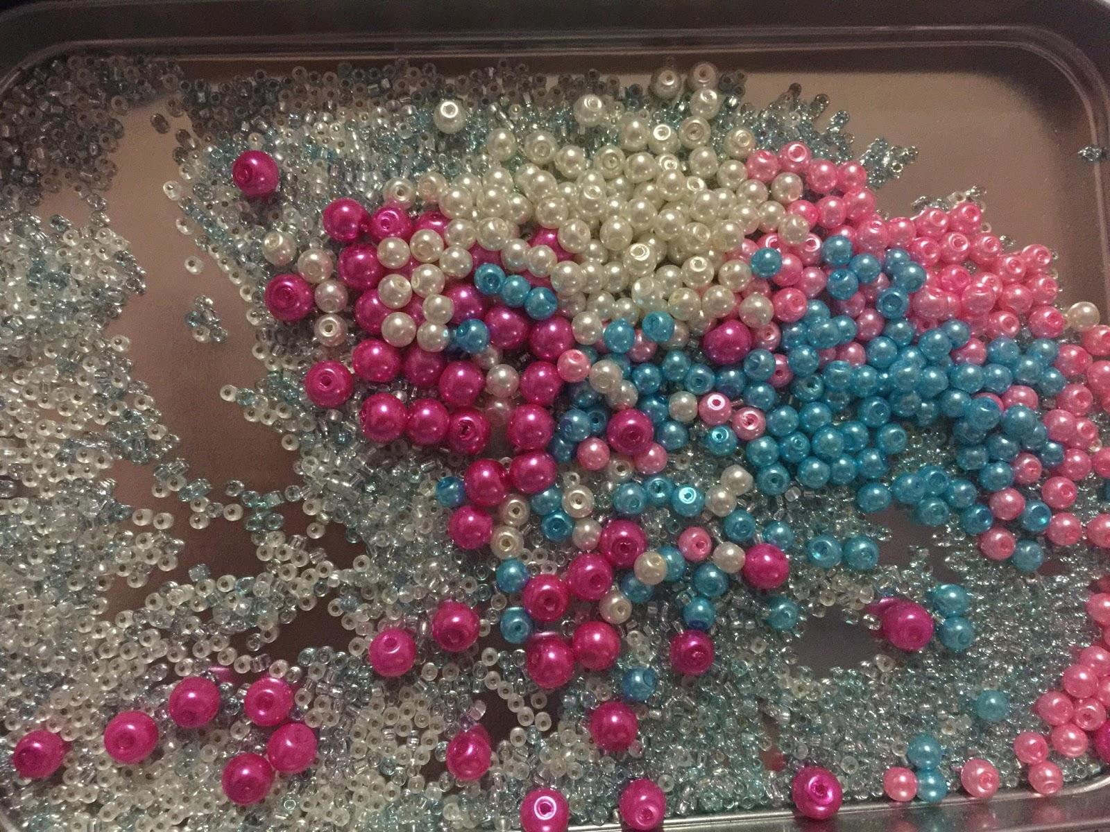 jahitan manik, beads, jentayu, sulaman manik