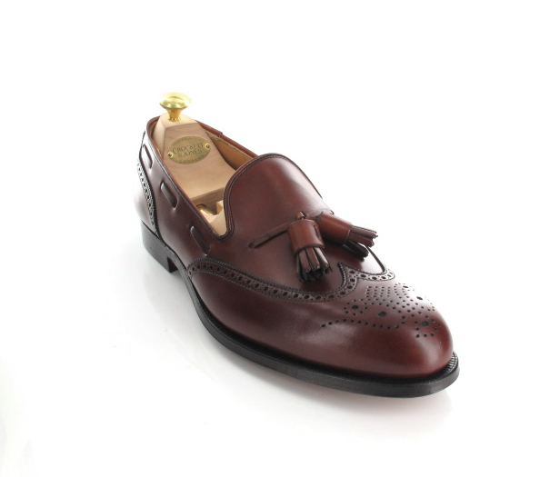 zapatos Tassel Brogue