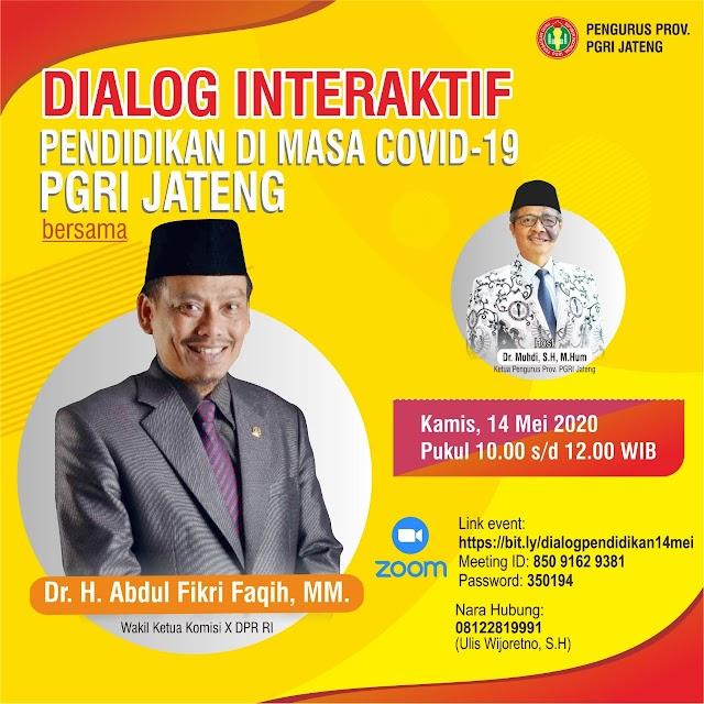 Dialog Interaktif : Pendidikan di Masa Covid-19