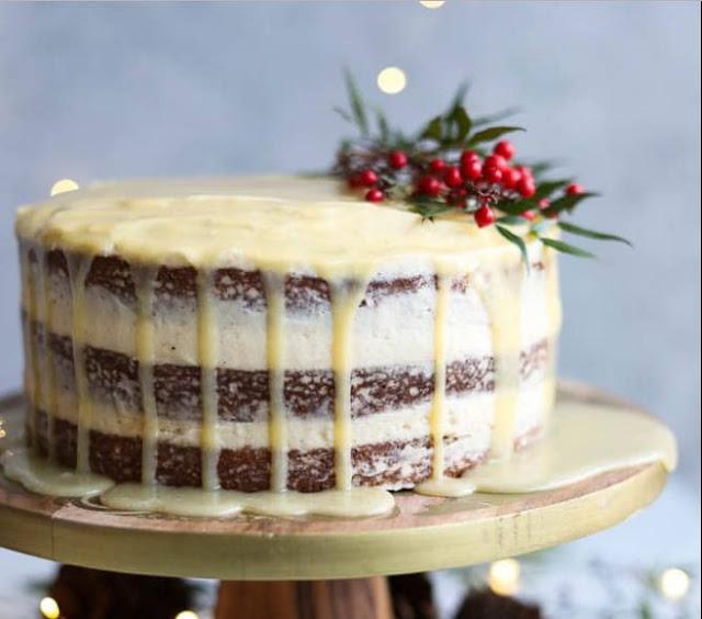 Eggnog Cake #cake #desserts
