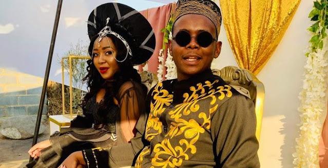 mapitsi and tbose wedding