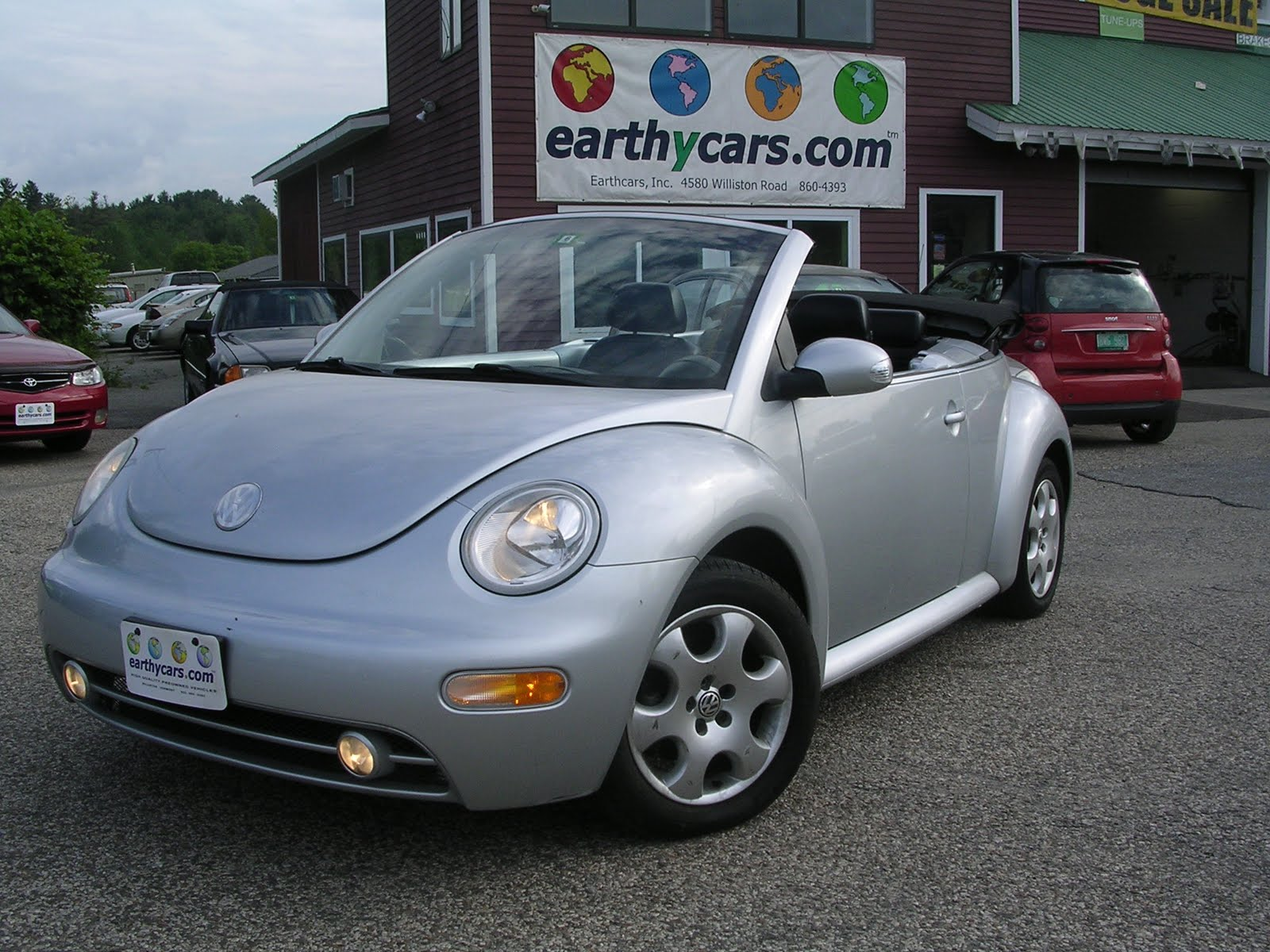 EARTHY CAR OF THE WEEK: 2003 VW New Beetle Convertible