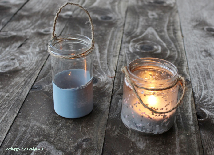 cristal upcycling: chalk paint para vidrio