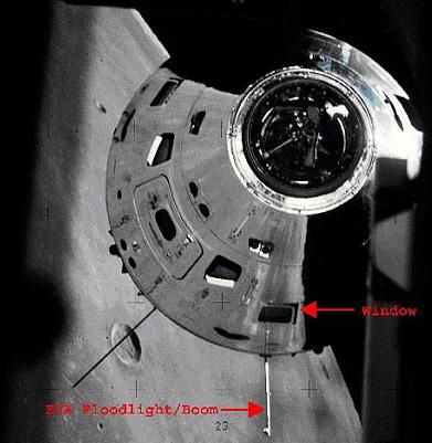 The UFO culprit from Apollo 16.
