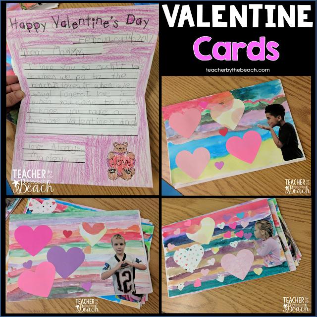 Valentine Cards Teacher by the Beach – Teacher Valentines Cards