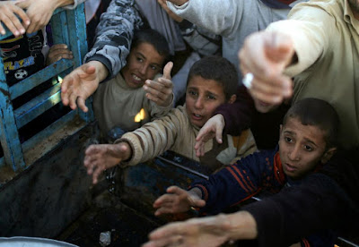 Desperation and Hunger outside Mosul