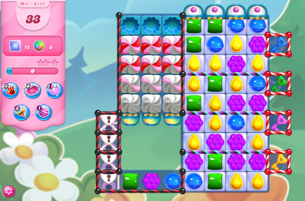 Candy Crush Saga level 9177