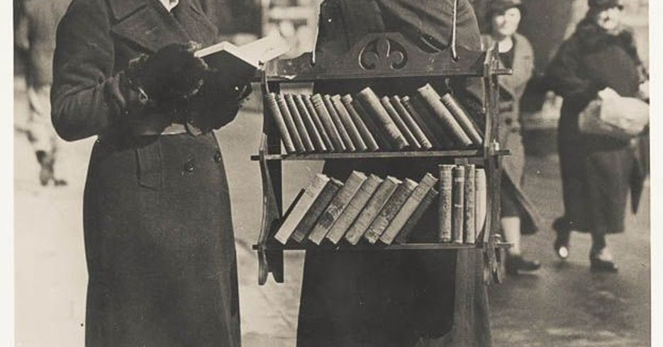 1930s home library the walking library london ca 1930s vintage everyday