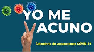 Vacunación COVID-19 20 al 24 de septiembre