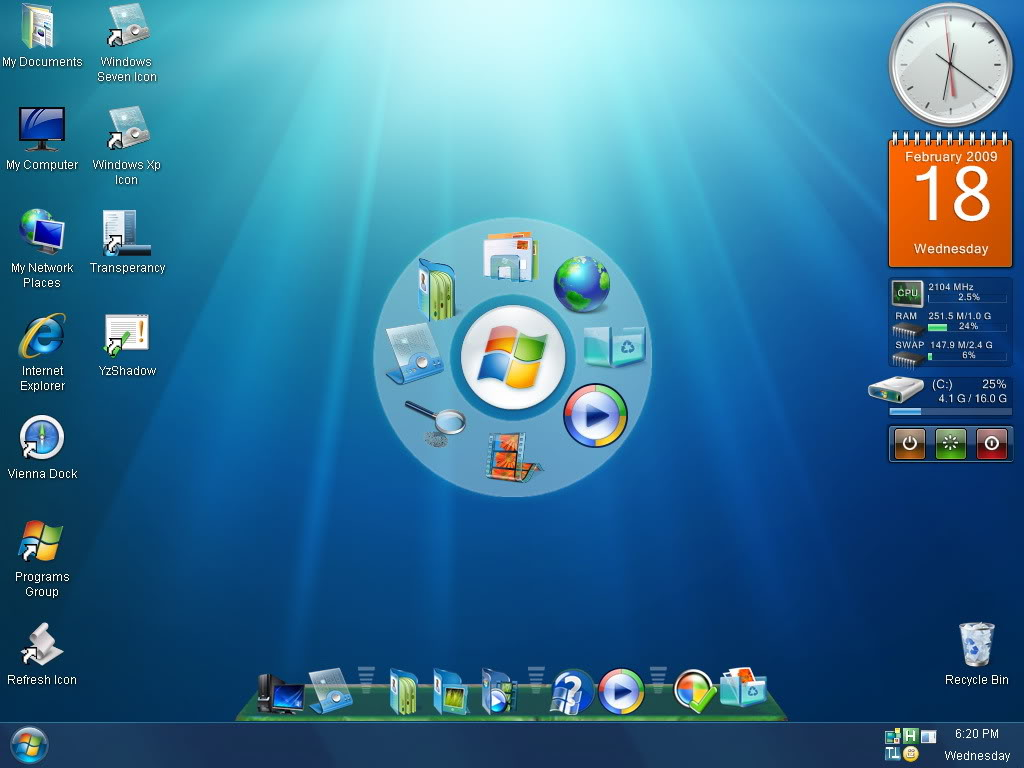 windows 7 royale xp