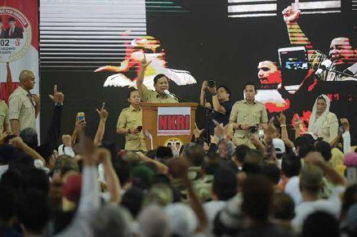 Prabowo: Kita Tidak Suka Kehormatan Bangsa Diinjak-Injak