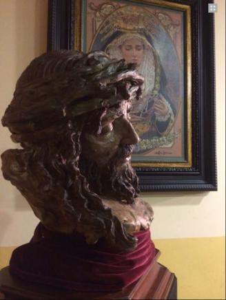 El Cristo de la Victoria se bendice el 23 de noviembre en San Felipe Neri de Málaga