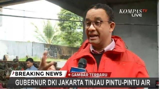 Arief Poyuono: Jangan Salahkan Anies, Jokowi Saja Enggak Sanggup Tangani Banjir