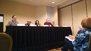 Short Story Panel, Left Coast Crime, 2015